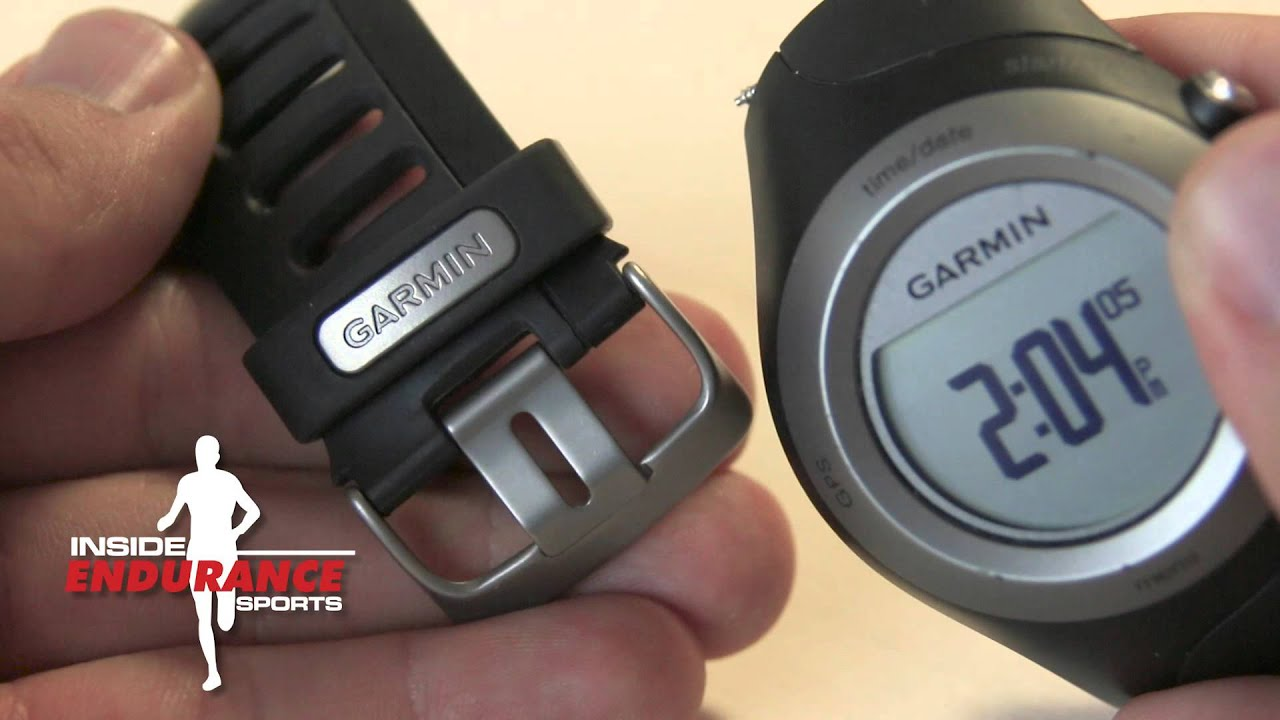 garmin forerunner 405 wrist strap replacement youtube rh youtube com