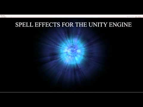 Unity Engine Spell Particle Effects Preview