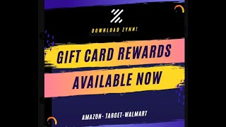 ZYNN APP REWARDS : Got an Amazon Gift Card!