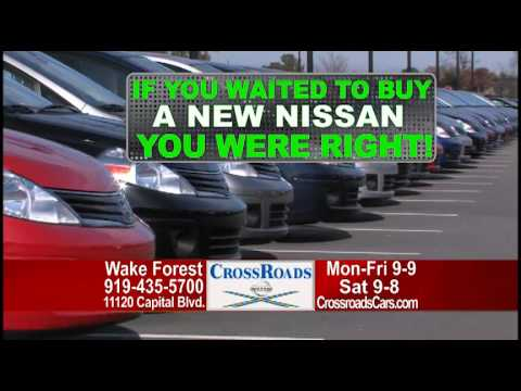 CrossRoads Nissan Wake Forest Fiscal Year End Closeout 3 4 11