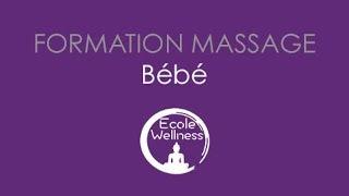 Formation massage bébé par l'Ecole Wellness