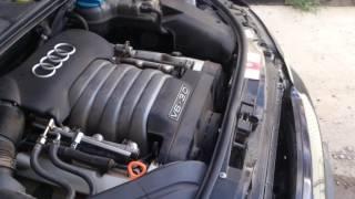 А4 б6 3.0 замена термостата