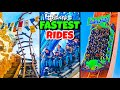 Top 10 Fastest Disney Rides in the World