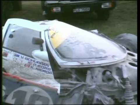 1987 le mans aftermath of price cobb 39 s huge practice accident youtube. Black Bedroom Furniture Sets. Home Design Ideas