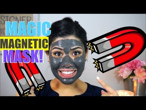 MAGIC MAGNETIC MUD FACE MASK! Does It Work?!?!