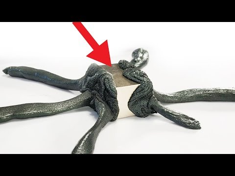 Magnetic Putty vs 600 LB Neodymium Magnet Test! Magnetic iPhone X Case!