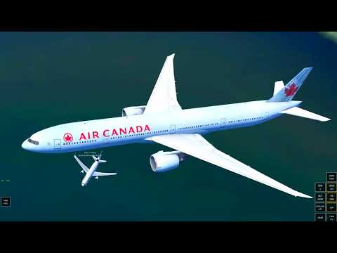 Infinite Flight Global Boeing 777-300 Montreal - Vancouver E