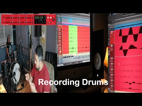 (1200 subs) Live Studio Session | Recording Drums at NS345 Studios Houston TEXAS