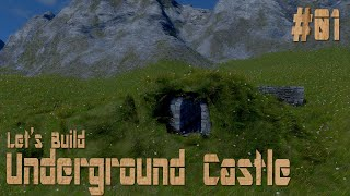 Medieval Engineers Let's Build: Underground Castle - Part 1