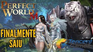 SAIU! PERFECT WORLD MOBILE MELHOR MMORPG MUNDO ABERTO 2019 ULTRA GRAFICOS 1440P GAMEPLAY BR DOWNLOAD