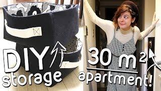 DIY Fabric Storage Boxes + Tokyo Apartment Tour 🏠