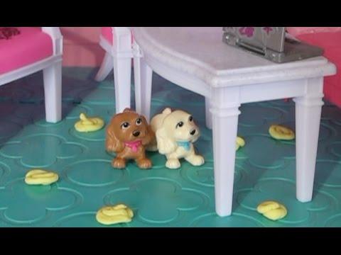 Щенки Барби закакали весь Дом мечты Барби Мультик Куклами ...