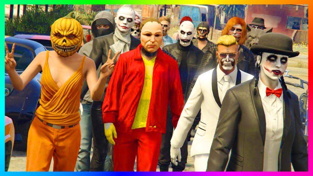 gta 5 dlc ultimate halloween 2016 party rare gta online