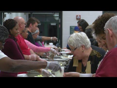 Carver Recreation Center hosts dinner to honor Dr. King