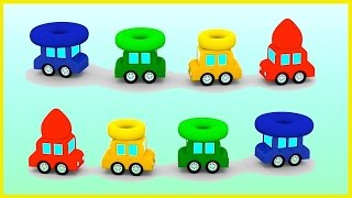 Cartoon Cars - PYRAMID FACTORY! - Car Cartoons for Kids. Car Videos for Children. Kid's Cartoons