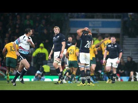 """Very Difficult Moment"": Ref Joubert on Australia v Scotland | RWC 2015"