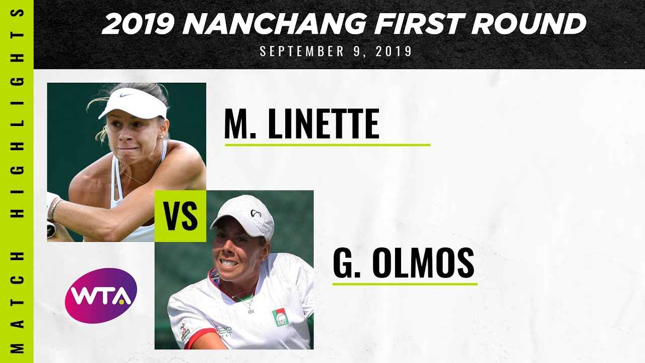 Magda Linette vs. Giuliana Olmos | Jiangxi Open First Round | WTA Highlights