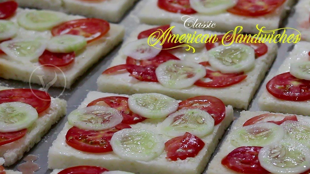 Classic American Sandwiches American Veg Sandwiches Veg Mayo