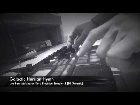 DJ Galactic - Galactic Hurrian Hymn live with Korg Electribe Sampler 2