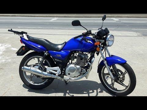 Rodolfinho da Z- Testando Suzuki EN 125 Yes 2008.