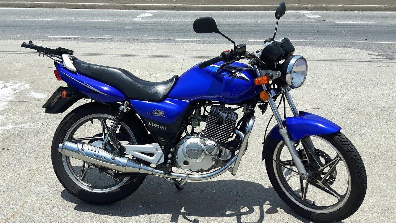 Rodolfinho Da Z- Testando Suzuki En 125 Yes 2008
