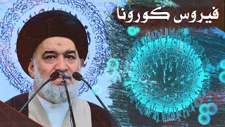 فيروس كورونا !   المرجعية الدينية العليا   السيد احمد الصافي
