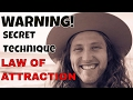 The Most Powerful Advanced Law Of Attraction Technique Nobody Tells You About (3 Step Guide)