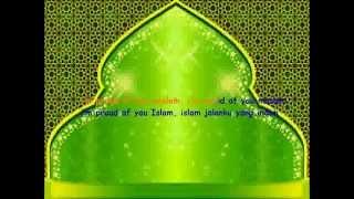 Karaoke Fatin Shidqia - Proud of you moslem (Tanpa Vokal)