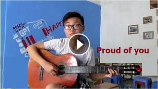 Học guitar Proud of you solo