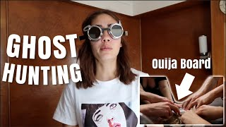GHOST HUNTING AT THE HAUNTED QUEEN MARY HOTEL *we saw demons*