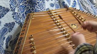 終盤の転調した後の部分を練習。 ソラシ〜ッソ、ソレ〜の『レ』と、レ〜...