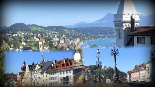 Oddie visits the most beautiful lakeside city of Luzerne - Switzerland