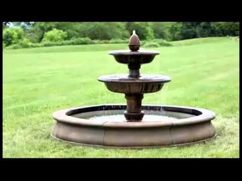 Beaufort Garden Outdoor Water Fountain FT-153