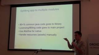 Droidcon India 2012: Building your app for multiple app stores