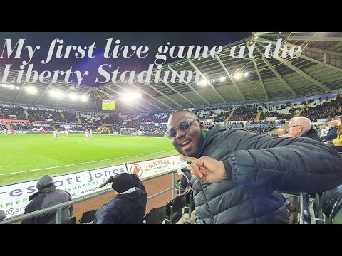 My first live game at the Liberty stadium || Swansea meets Bristol part 1