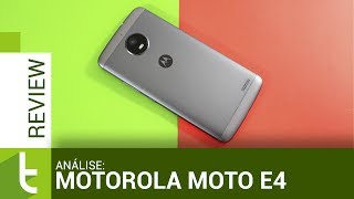 Análise Motorola Moto E4 | Review do TudoCelular