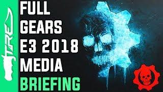 Gears of War E3 2018 FULL Media Briefing - Gears 5, Gears Tactics & Gears POP Cinematic Trailers