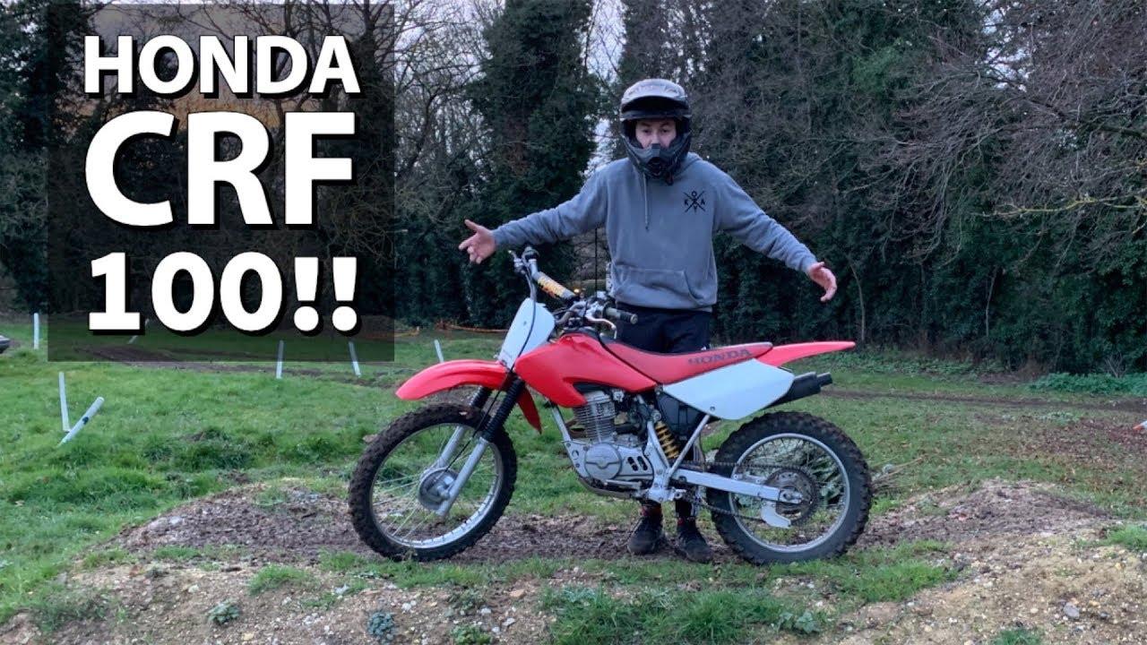 Riding A Honda Crf 100 Youtube
