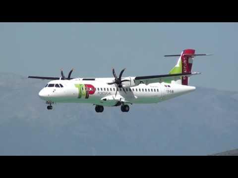 Tap Express ATR-72-600 CS-DJB Landing Malaga LEMG