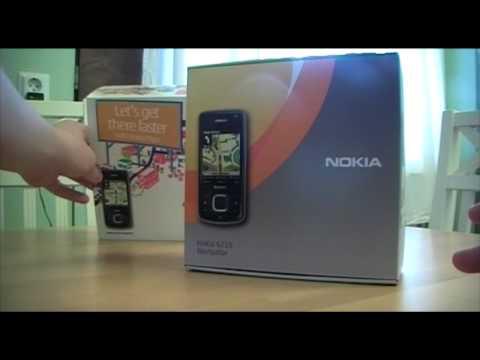 Unboxing Nokia 6210 Navigator