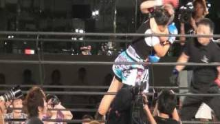 Kate Martinez wins fight at S-Cup Japan