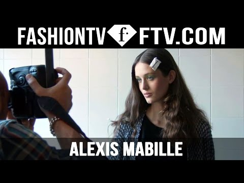 Alexis Mabille Spring 2016 Hairstyle Paris Fashion Week | FTV.com