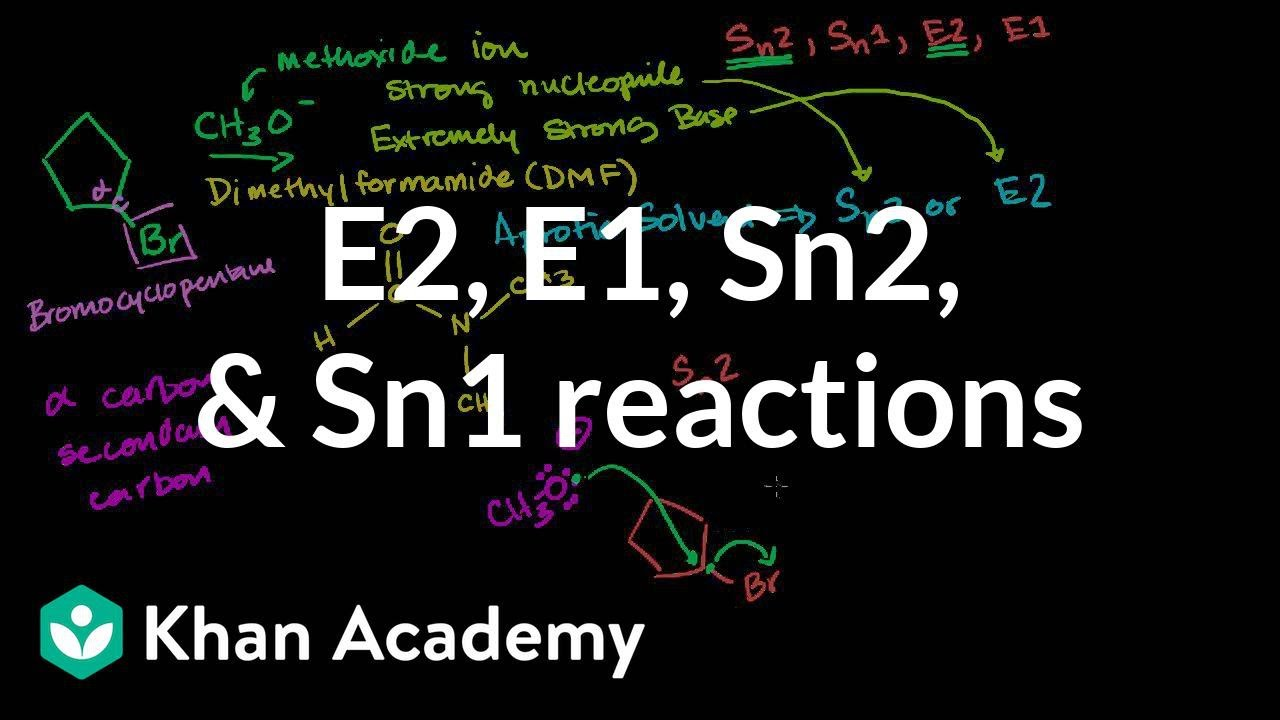 sn2 sn1 e1 e2 mechanisms Sn1/sn2/e1/e2 trends and competition reactions problem # 703 show two  ways to prepare the ether below from a combination of an alcohol and an alkyl.