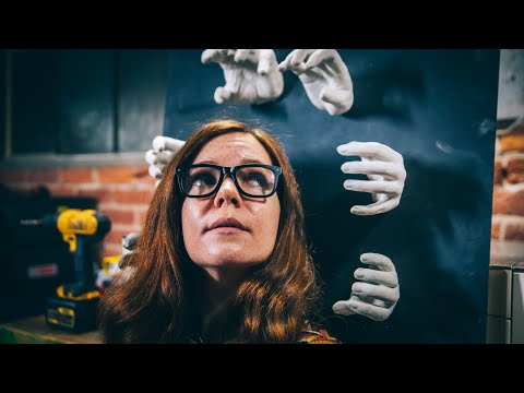 How To Make Creepy Plaster Hand Casts for Halloween!