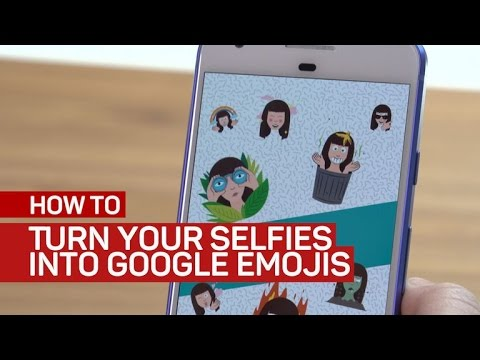 Turn your selfies into Google emojis