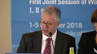 IPCC SR15 Press Conference Live Oct 8th 2018