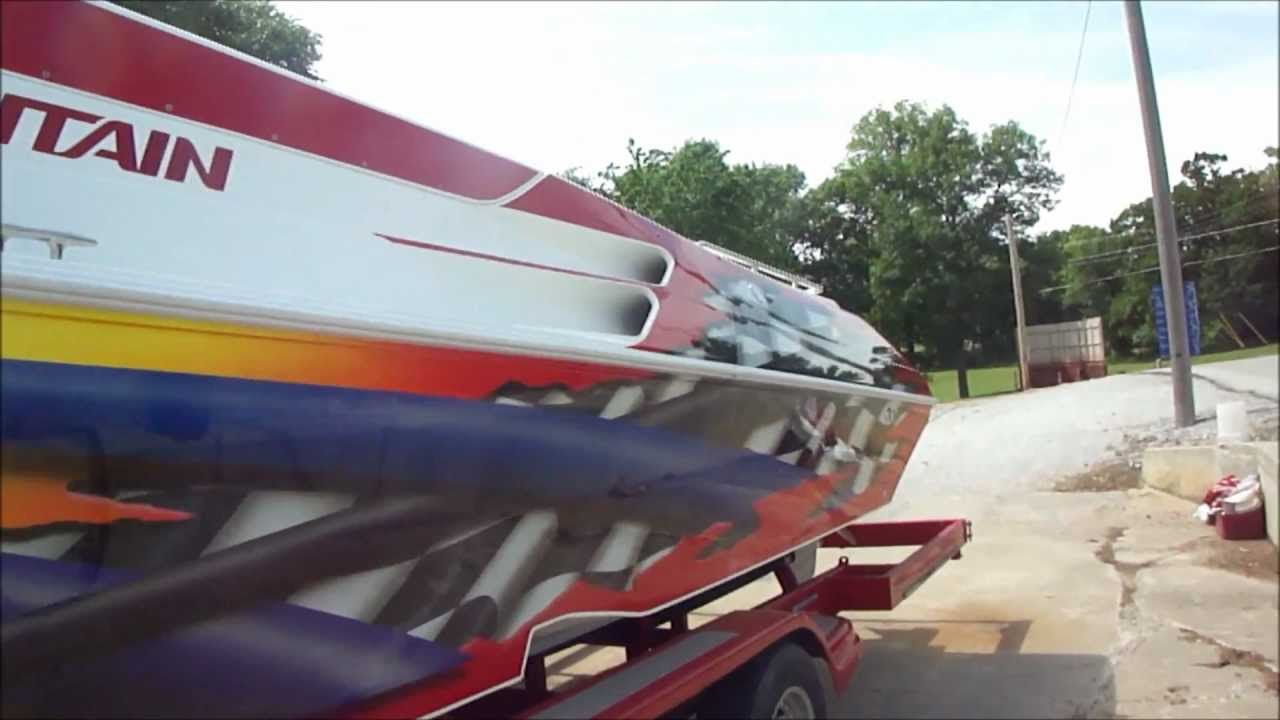 So You Want A Bugout Boat  42 U0026 39  Twin Supercharged Fountain