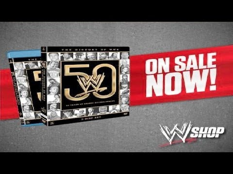 WWE The History of WWE: 50 Years of Sports Entertainment DVD Review