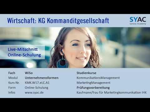 Wirtschaft » KG Kommanditgesellschaft Als Unternehmensform Und Rechtsform   SYAC.DE
