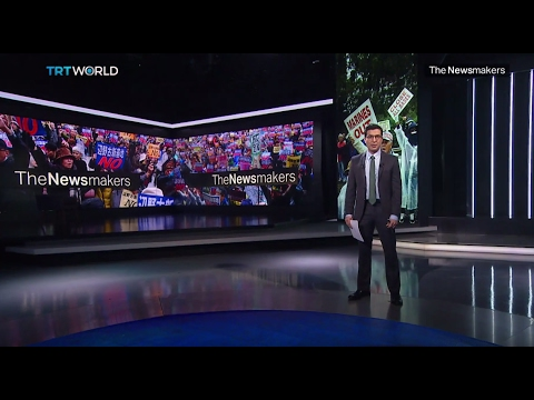 The Newsmakers: Alexey Navalny's trial and US air base controversy